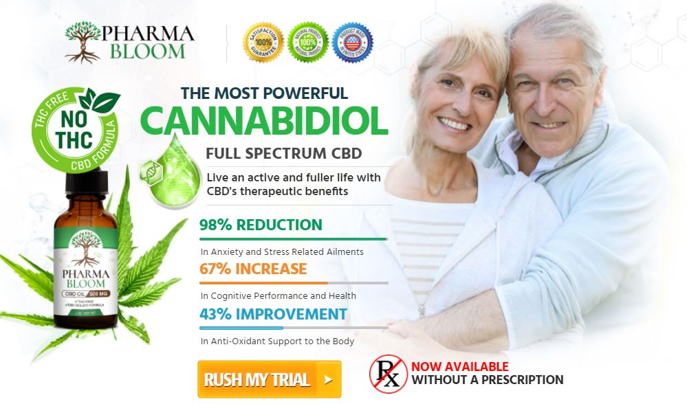 Benefits of Pharma Bloom CBD Oil