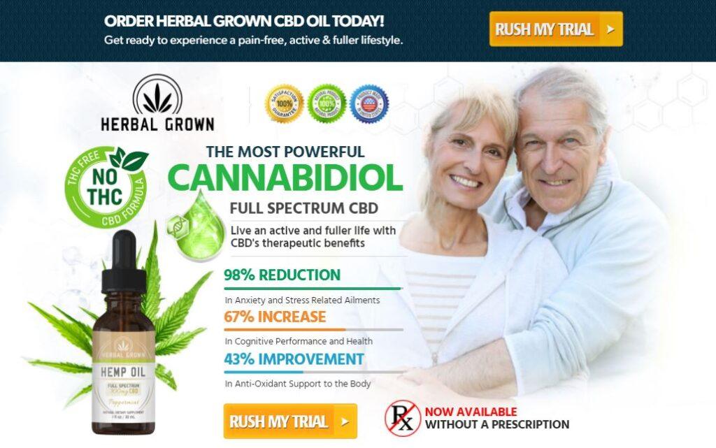 Rush My Trial Herbal Grown CBD Oil