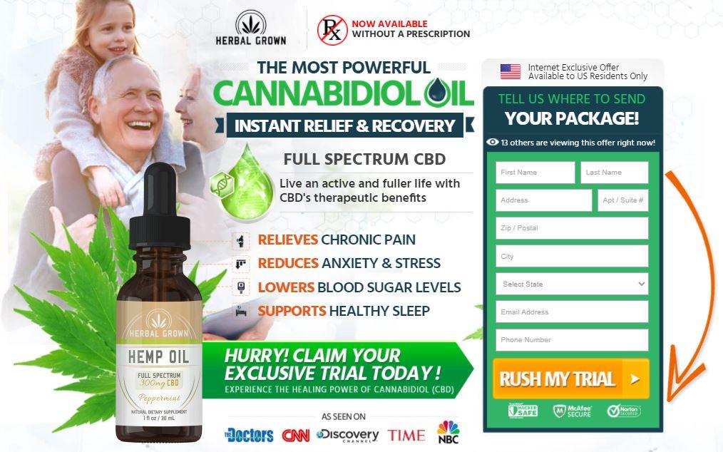 Where to Buy Herbal Grown CBD Oil