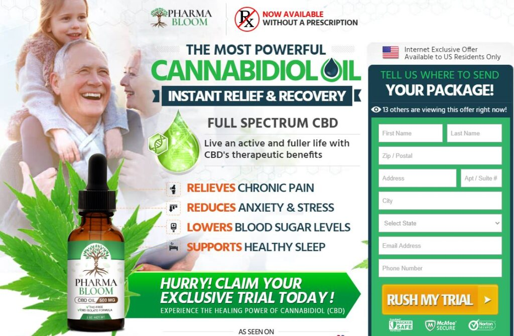Where to Buy Pharma Bloom CBD Oil