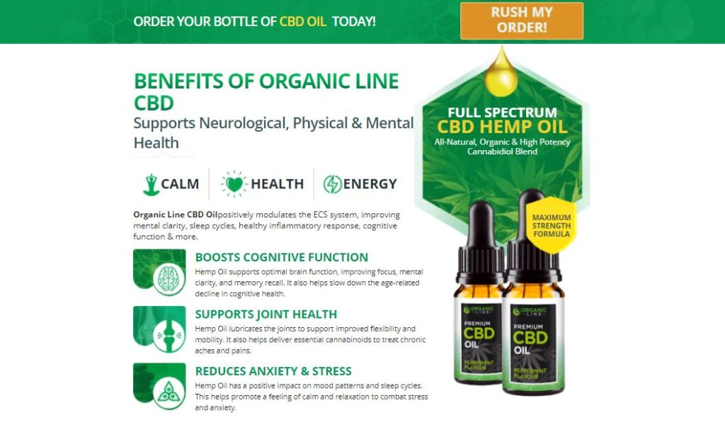 Benefits of Organic Line CBD Oil