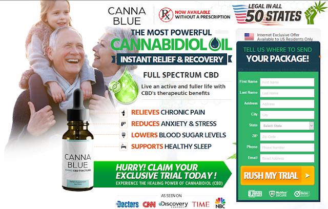 Cannablue CBD Oil