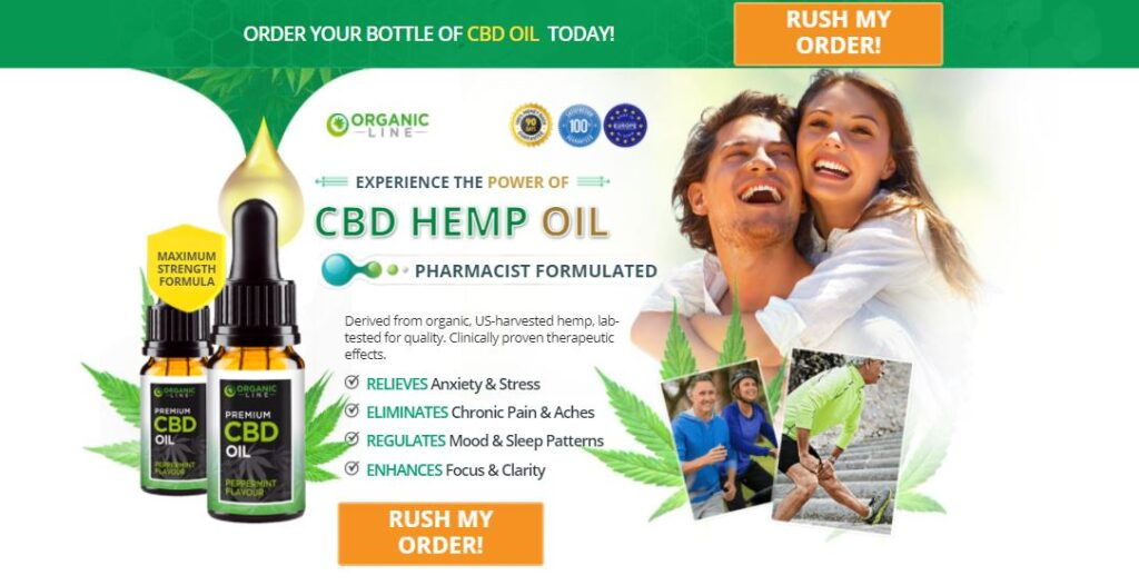 Work of Organic Line CBD Oil