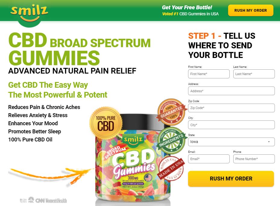 Where to Buy Smilz CBD Gummies